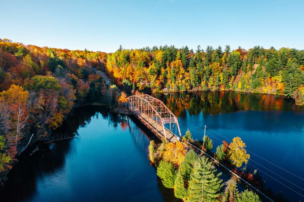 Fall colors are endless throughout Marquette Michigan and the state's upper peninsula.