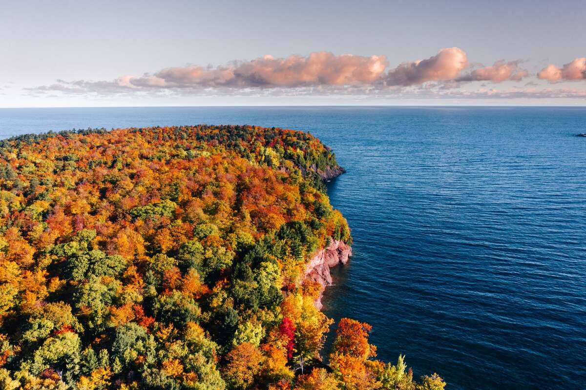 The Marquette, Michigan region is full of beautiful views in the fall.