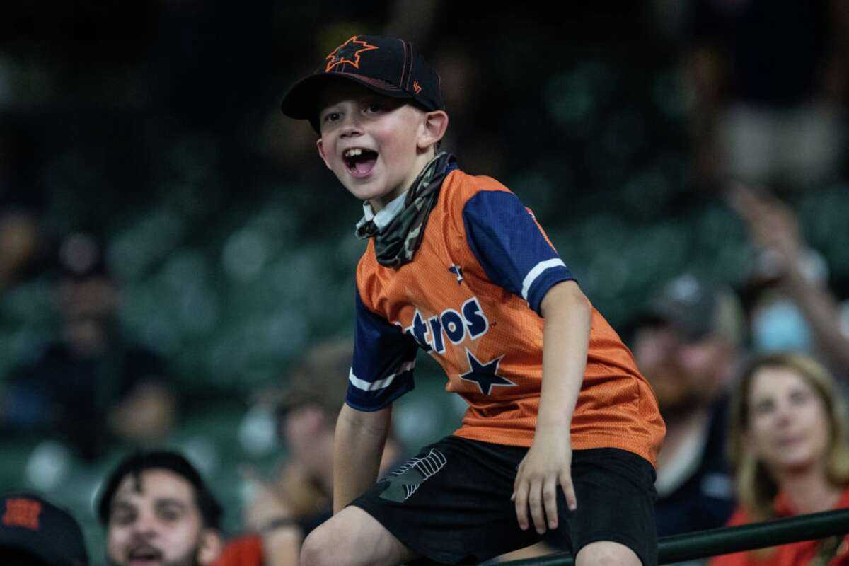 Rep your favorite team with an Astros t-shirt.