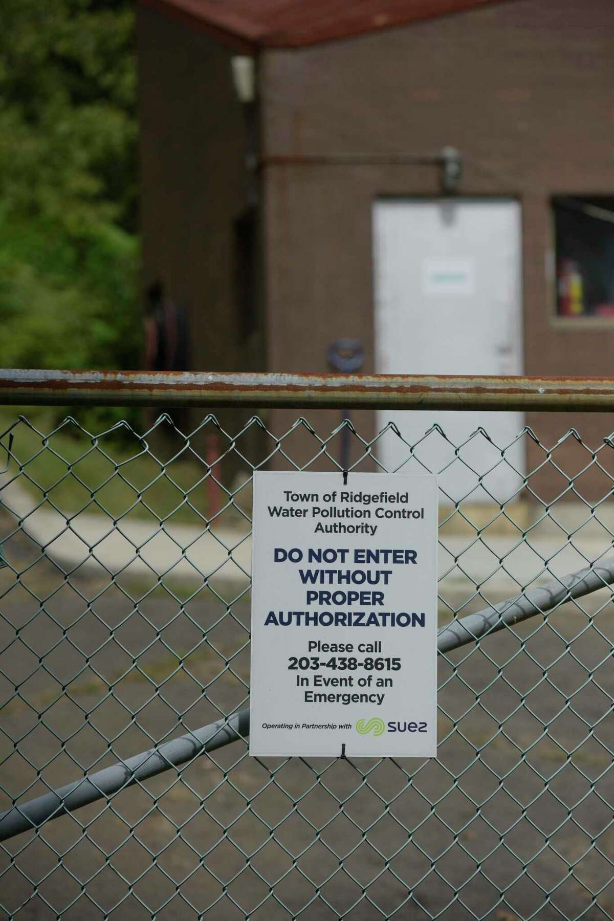 Ridgefield is looking to decommission the District II sewer plant and install a pump line connecting houses and businesses to the District I plant. Wednesday, September 22, 2021, Ridgefield, Conn.
