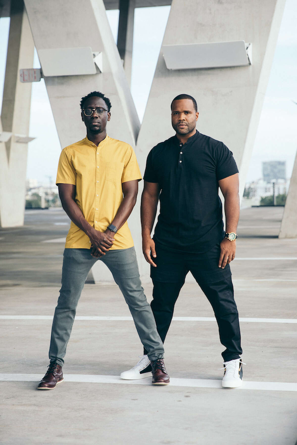 Musical duo Kev Marcus and Wil Baptiste, known as Black Violin, will perform at Midland Center for the Arts on Saturday, Oct. 23.