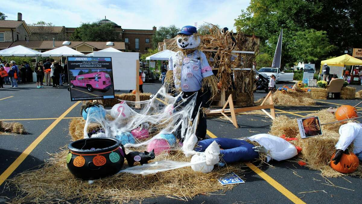 The annual Scarecrow Festival takes places place this weekend in St. Charles