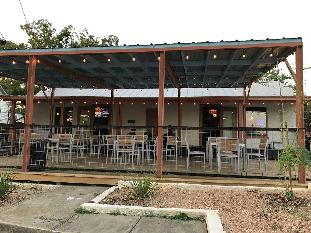 Three Star Bar is located at 521 Grayson Street in San Antonio's Government Hill neighborhood.