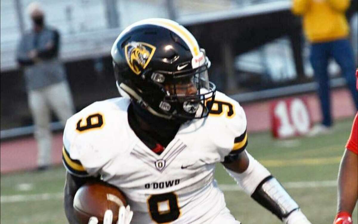 Senior running back Michael White leads Bishop O'Dowd-Oakland into Friday's MVAL/WACC Foothill game with Hayward.
