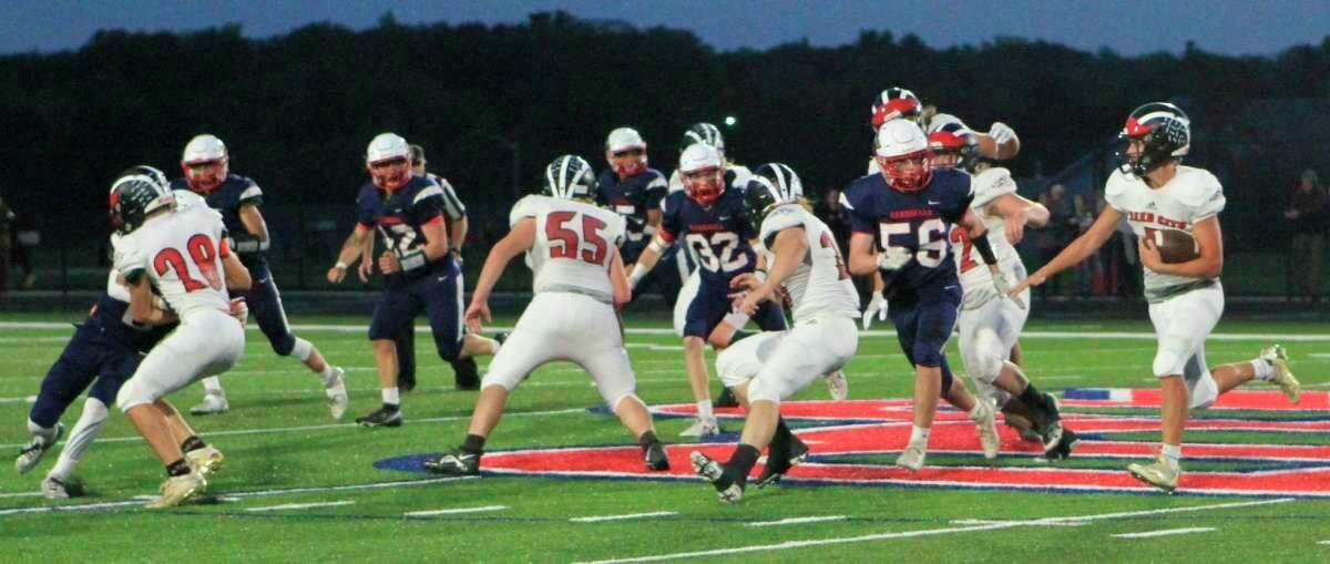 Reed City will hit the road for Newaygo in week seven of the high school football season. (Pioneer file photo)