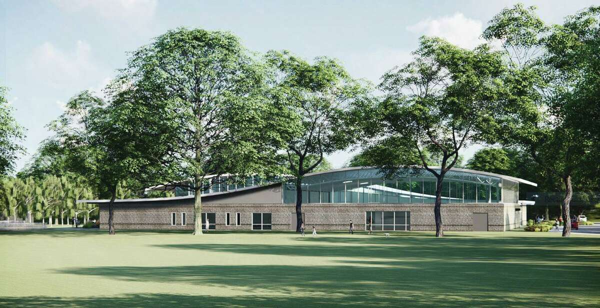 The design for the new Eastern Greenwich Civic Center calls for a one-story 35,418-square-foot building to replace the current two-story building with 31,765 square feet of space.
