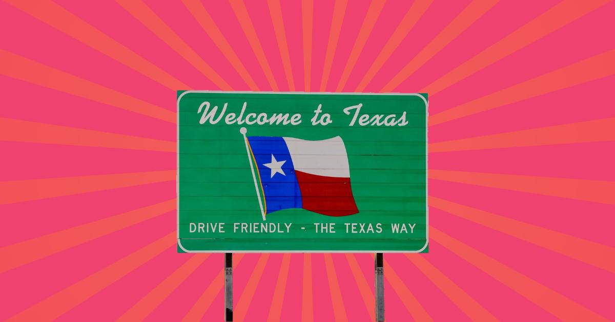 TikToker, con sede en Londres, defiende a Texas en la aplicación de redes sociales