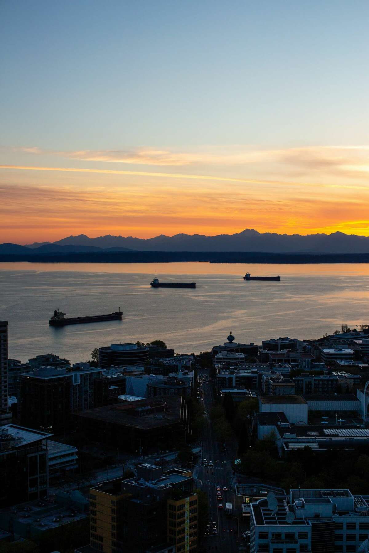 The sunsets from the spire are spectacular.