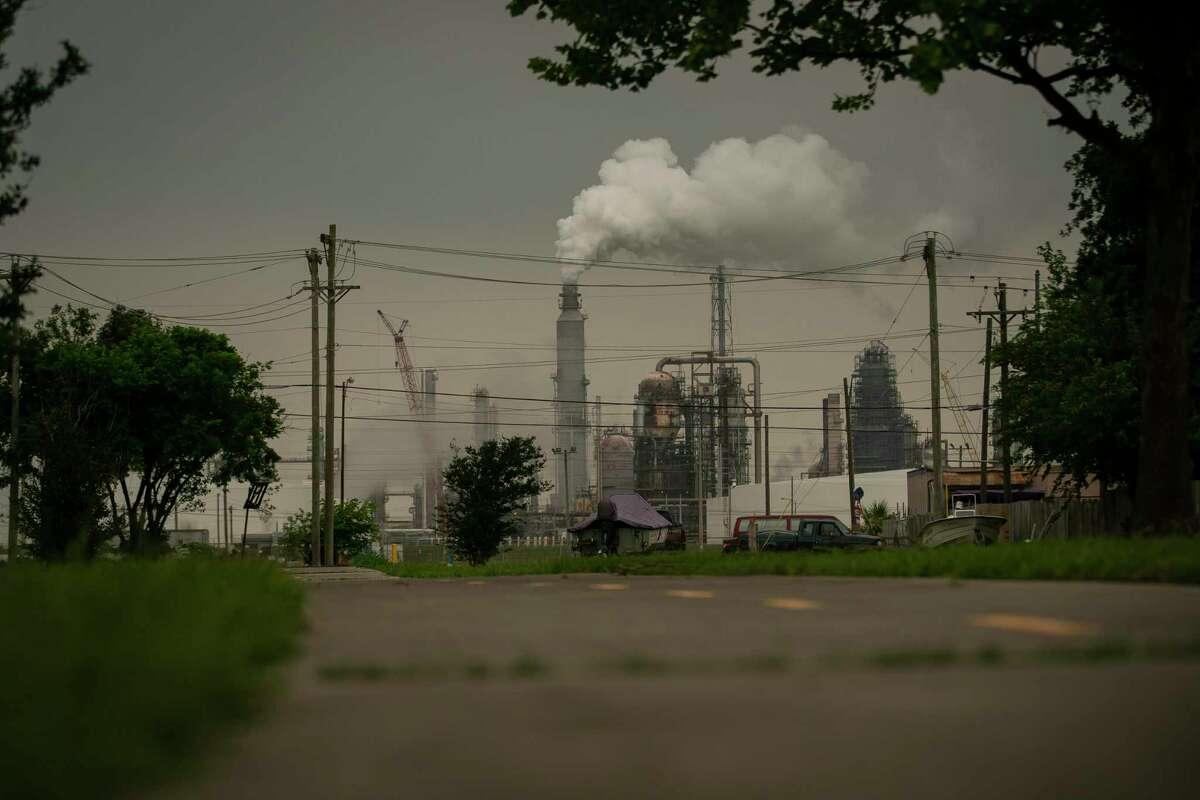 The Marathon Texas City refinery, Tuesday, May 4, 2021, in Texas City.