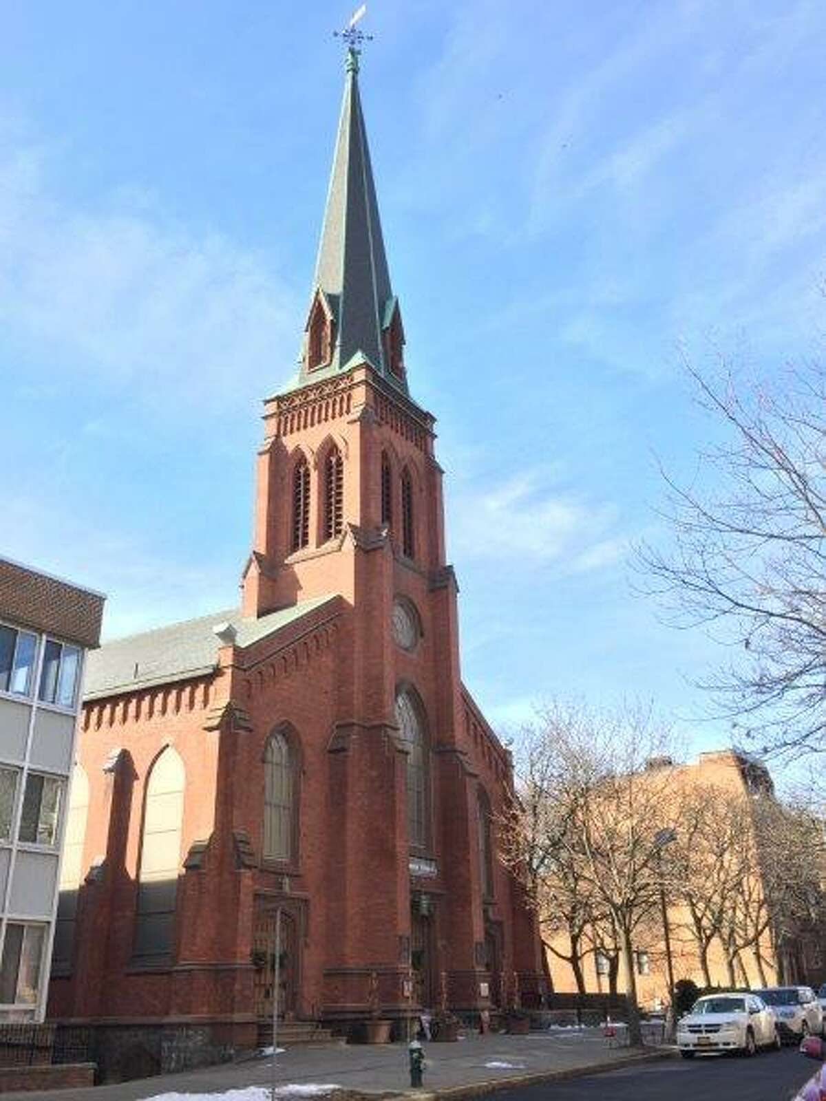 Westminster Presbyterian Church's noteworthy architecture landed it on Albany's Sacred Sites tour before the pandemic. Now, the historic church is installing a new female pastor.