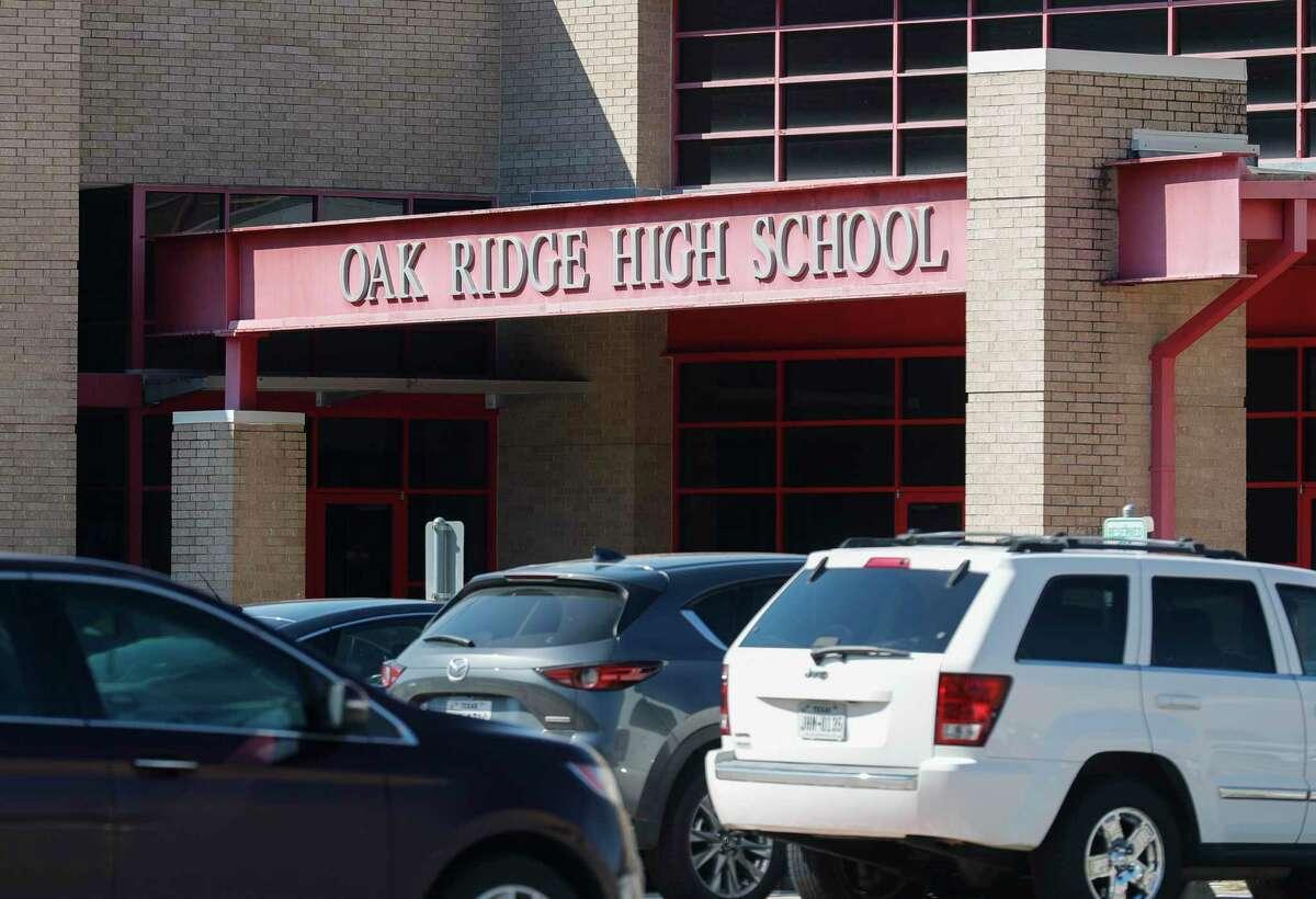 Oak Ridge High School is seen, Thursday, Oct. 7, 2021.