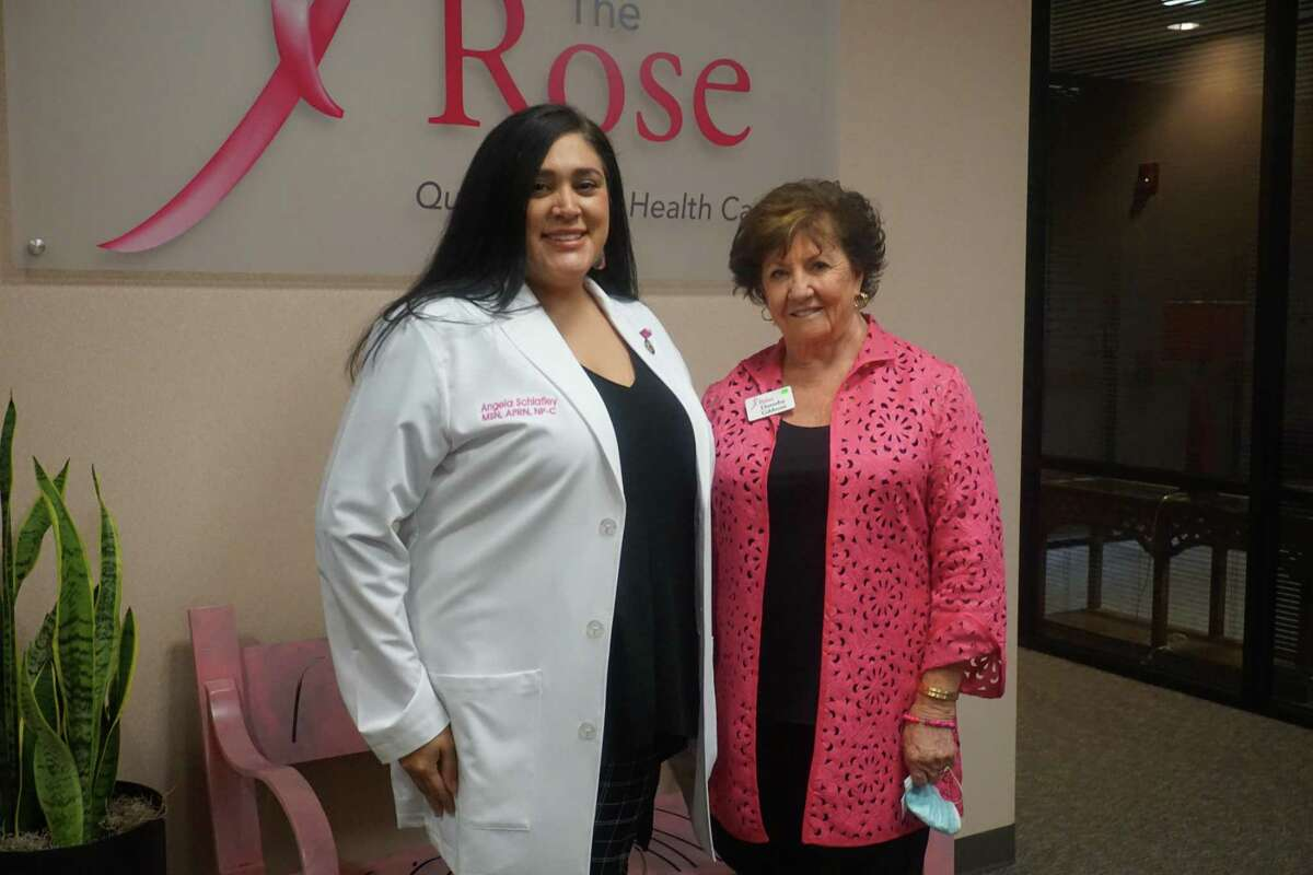 In August, Angela Schlafley, the new director of clinical services at The Rose, left, and Dorothy Gibbons, CEO and co-founder of The Rose, launched the new Mammogram to Medical Home program which helps uninsured women gain access to not only mammograms but also primary care.