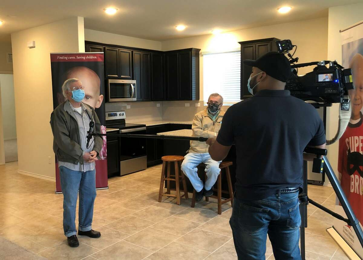 San Antonio veteran Jerry Wright was the winner of the 2020 San Antonio St. Jude Dream Home®Giveaway. This year's winner will be announced on Oct. 28 during a live broadcast on WOAI News 4 San Antonio.