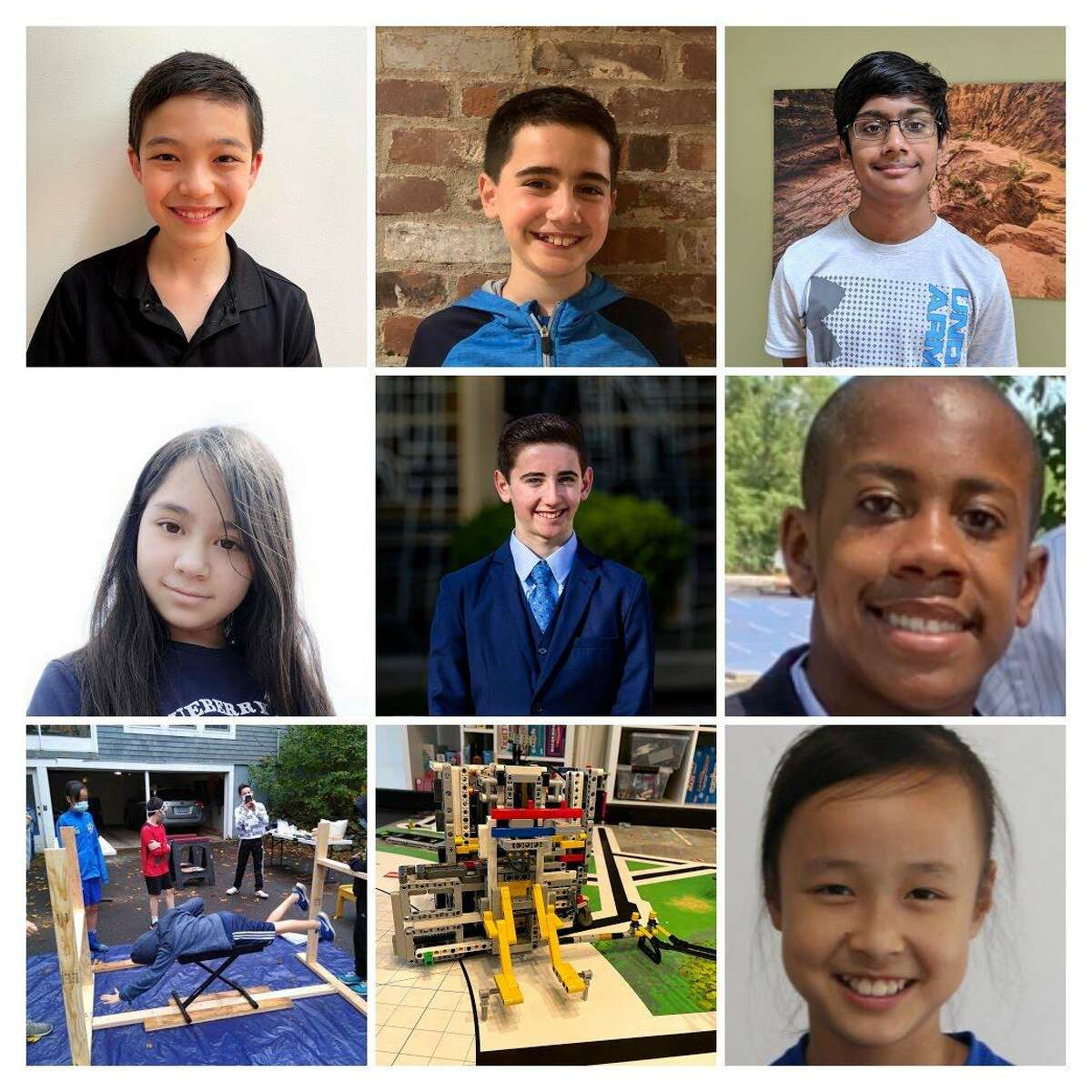 The Robosapiens include Beecher Road School and Amity Middle School students: Henrietta Hall, Lucy Jiang, Alex Klee, Jacob Klee, Mihir Nandy, Jacob Richards and Xander Shavers. They won the FIRST Lego League State Championship.
