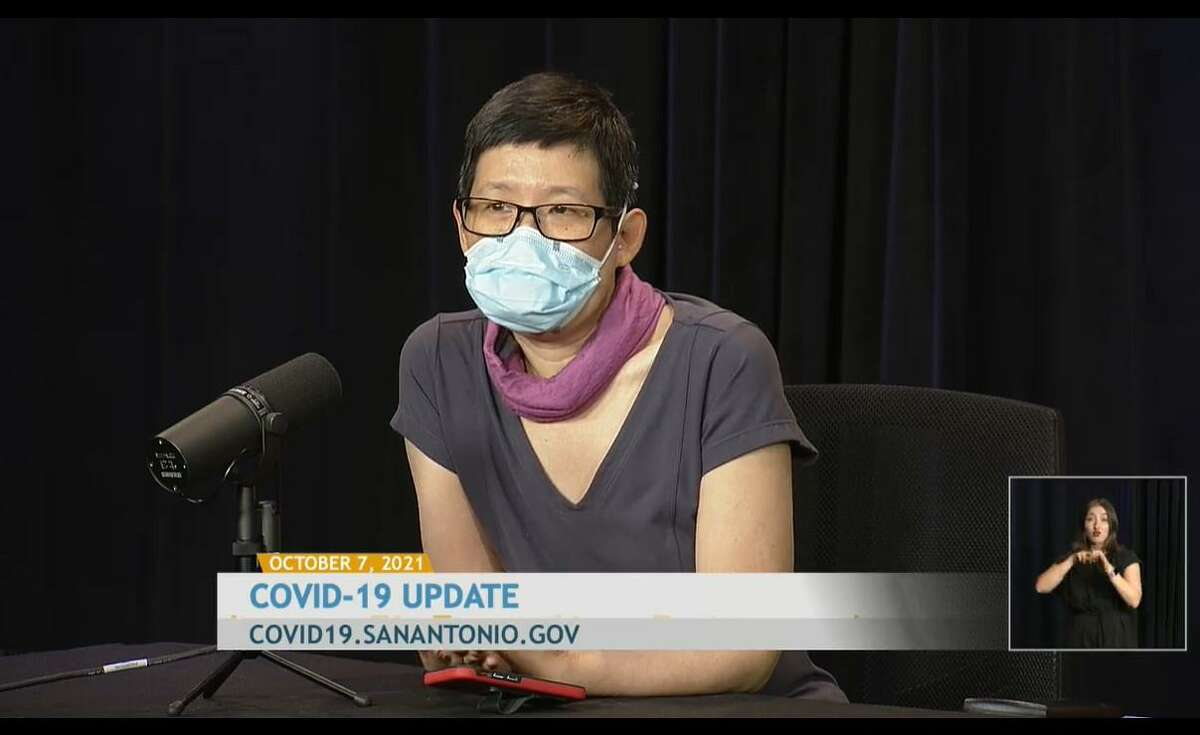"""Metro Health Medical Director Junda Woo encourages people to listen to their loved ones about why they haven't gotten the COVID-19 vaccine. """"They may have some reasonable concerns and (you could) help them if they need practical support like transportation,"""" she said. Currently, about 75 percent of people eligible for the coronavirus vaccine in Bexar County have been fully vaccinated."""