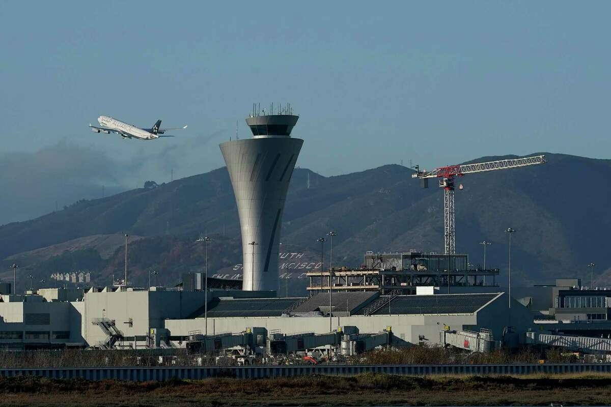The number of people flying out of San Francisco International Airport went up during the summer, but is still far below pre-pandemic levels.