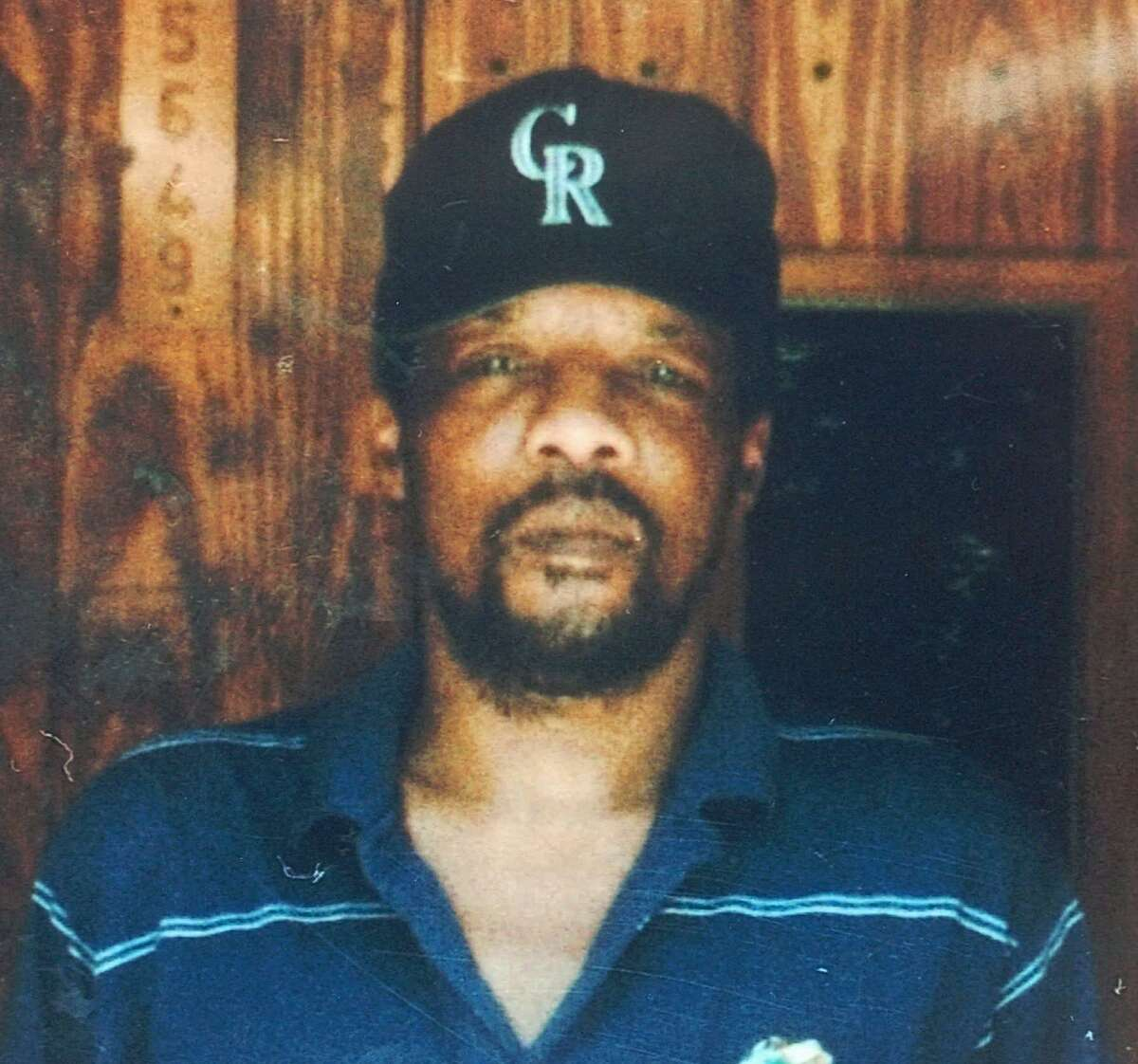 FILE - James Byrd Jr., shown in this 1997 family photo, was tied to a truck and dragged to his death along a rural East Texas road early Sunday, June 7, 1998, near Jasper, Texas. Lawrence Russell Brewer, 44, one of two purported white supremacists condemned for Byrdâ??s death, is set for execution Wednesday for participating in chaining Byrd to the back of a pickup truck, dragging the black man along the road and dumping what was left of his shredded body outside a black church and cemetery. (AP Photo/Byrd Family Photo, File)