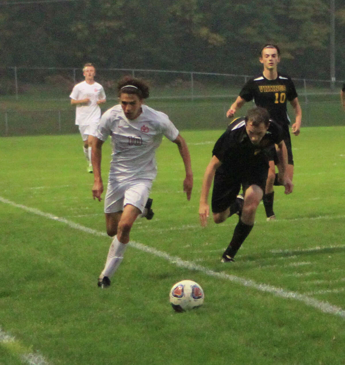 The Big Rapids soccer team was defeated by Tri County on Thursday evening in the second round of the CSAA Tournament.