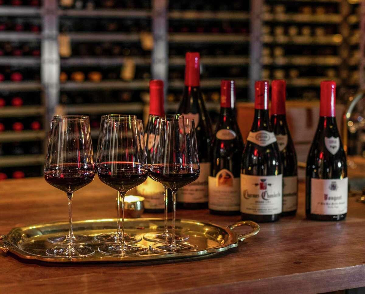 March restaurant in Montrose has an 11,000-bottle wine cellar.