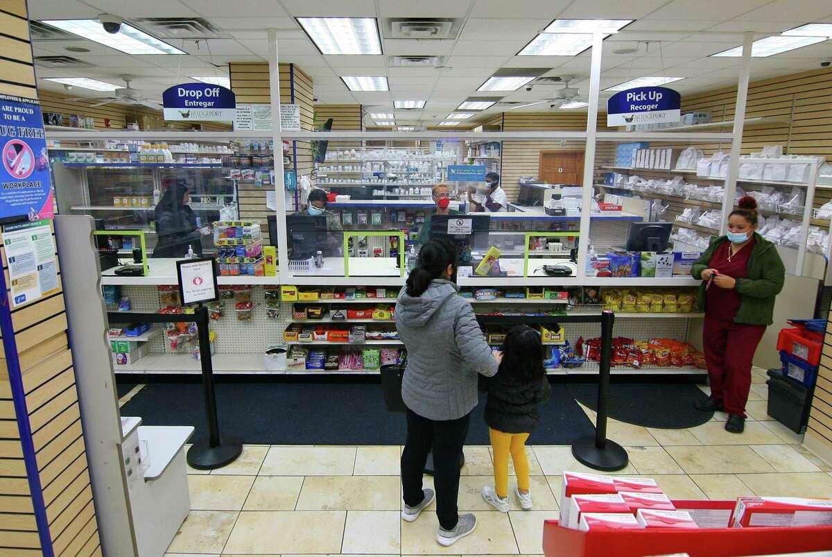 An interior view of Bridgeport Pharmacy on East Main Street in Bridgeport last year.