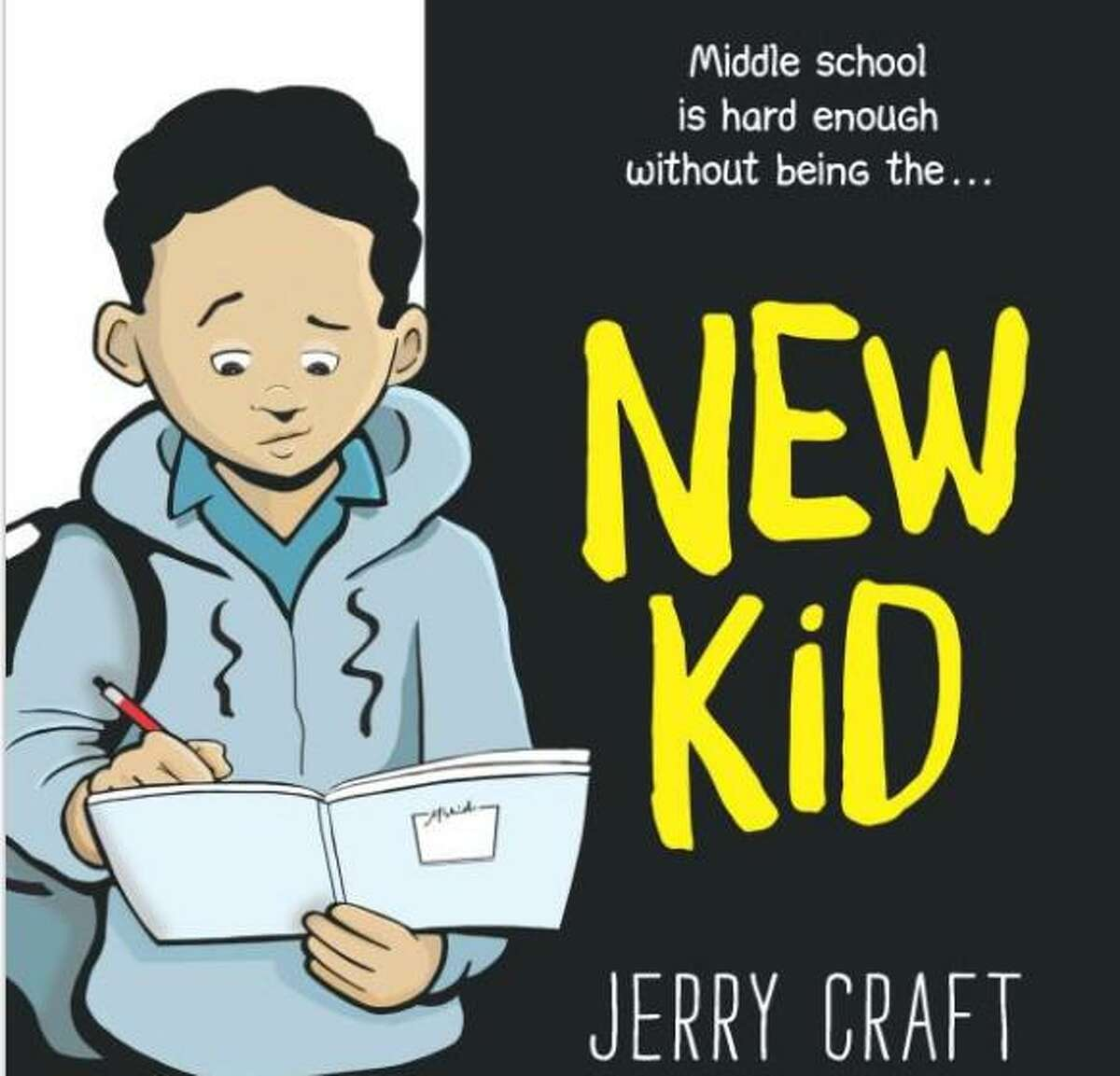 """Jerry Craft's novel """"New Kid"""" is about what it's like to be a Black child. If this makes white people, perhaps they should read the book."""