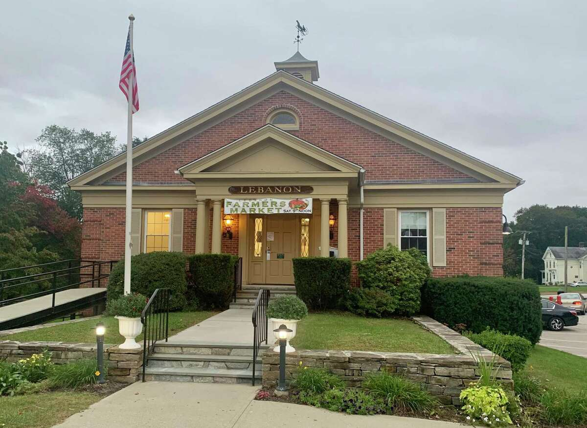 Lebanon Town Hall is located at 579 Exeter Road.