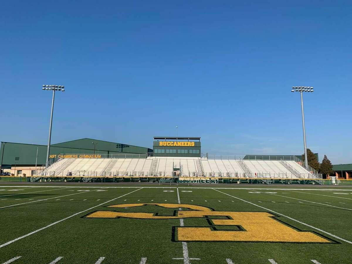 Buccaneer Stadium at East Chambers High School.
