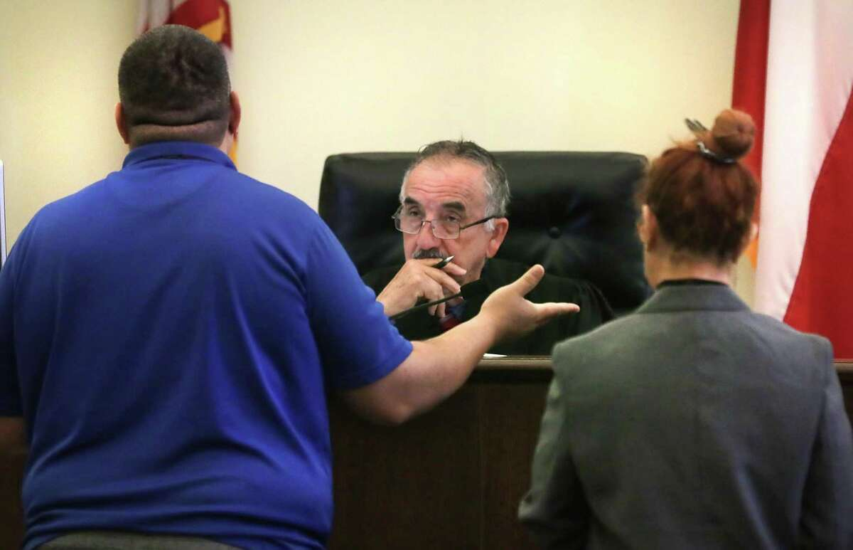 Justice of the Peace Judge Ciro Rodriguez has resigned after the county cut his pay and launched a study to consider eliminating his Place 2, Precinct 1 bench.