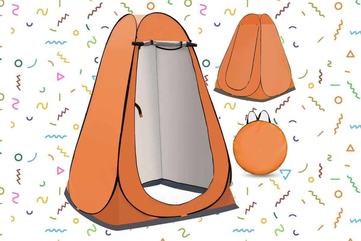Portable Popup Pod- Instant Privacy, Shower & Changing Tent with Carry Bagfor $28.99 at Walmart