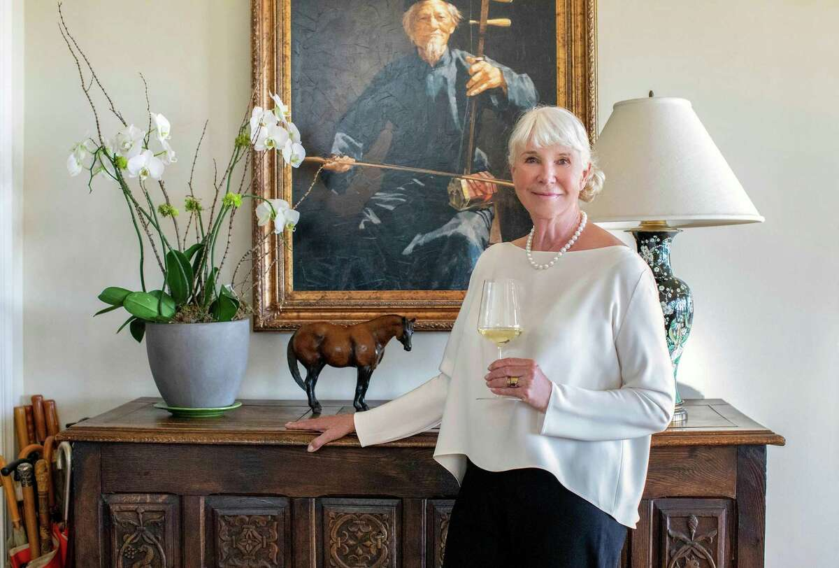 Vintner Robin Lail at her home in Napa Valley.