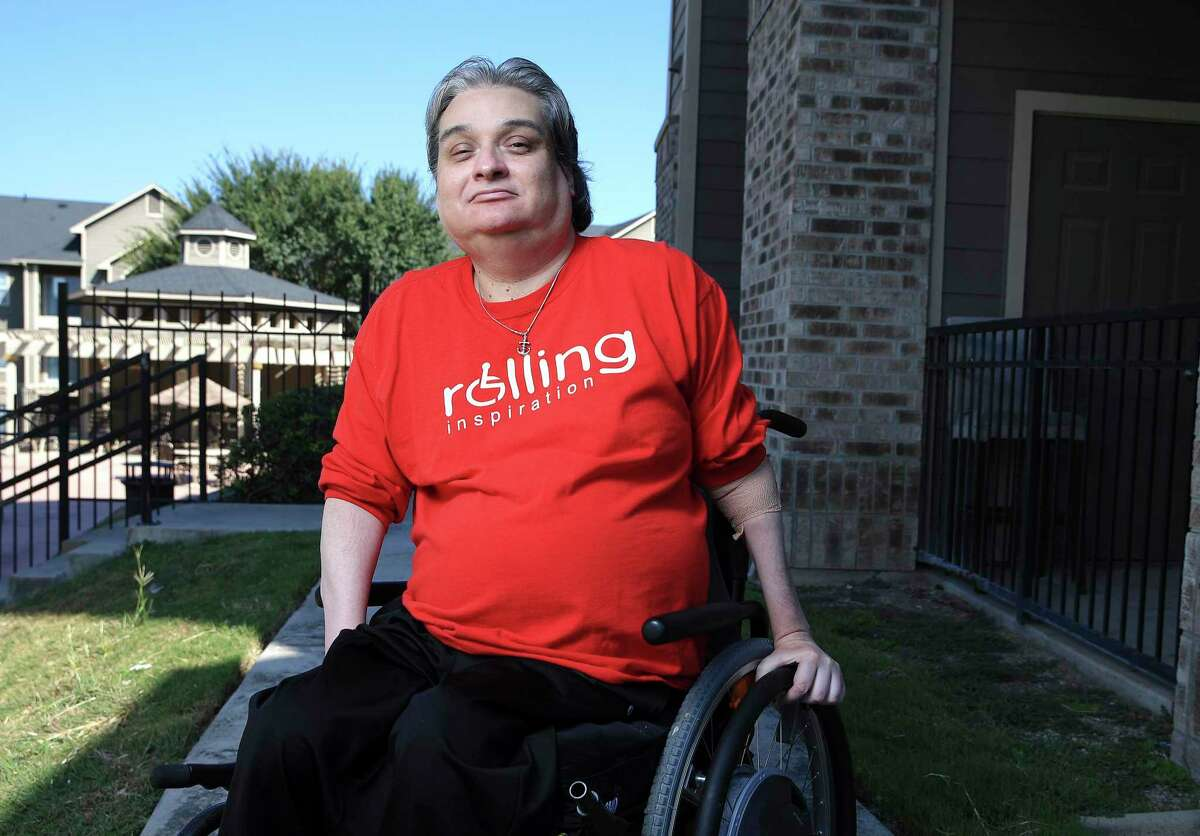 """After being paralyzed in a car accident in 1997, Chris Salas has devoted himself to helping others find their way after sustaining spinal cord injuries. He is the founder of Rolling Inspiration, a local nonprofit with a mission to help """"all people with mobility impairments""""; advocates for accessible housing; and volunteers to help others."""