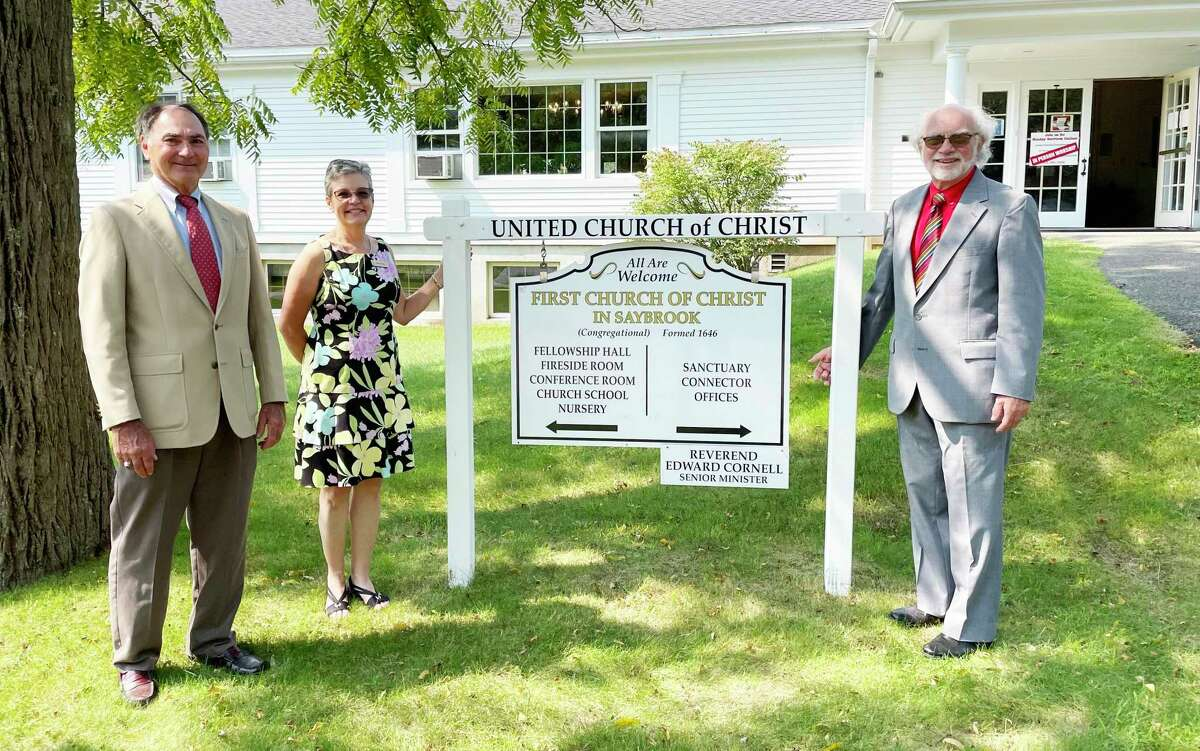 First Church of Christ in Old Saybrook has merged with the United Church of Christ as its national denomination affiliation.