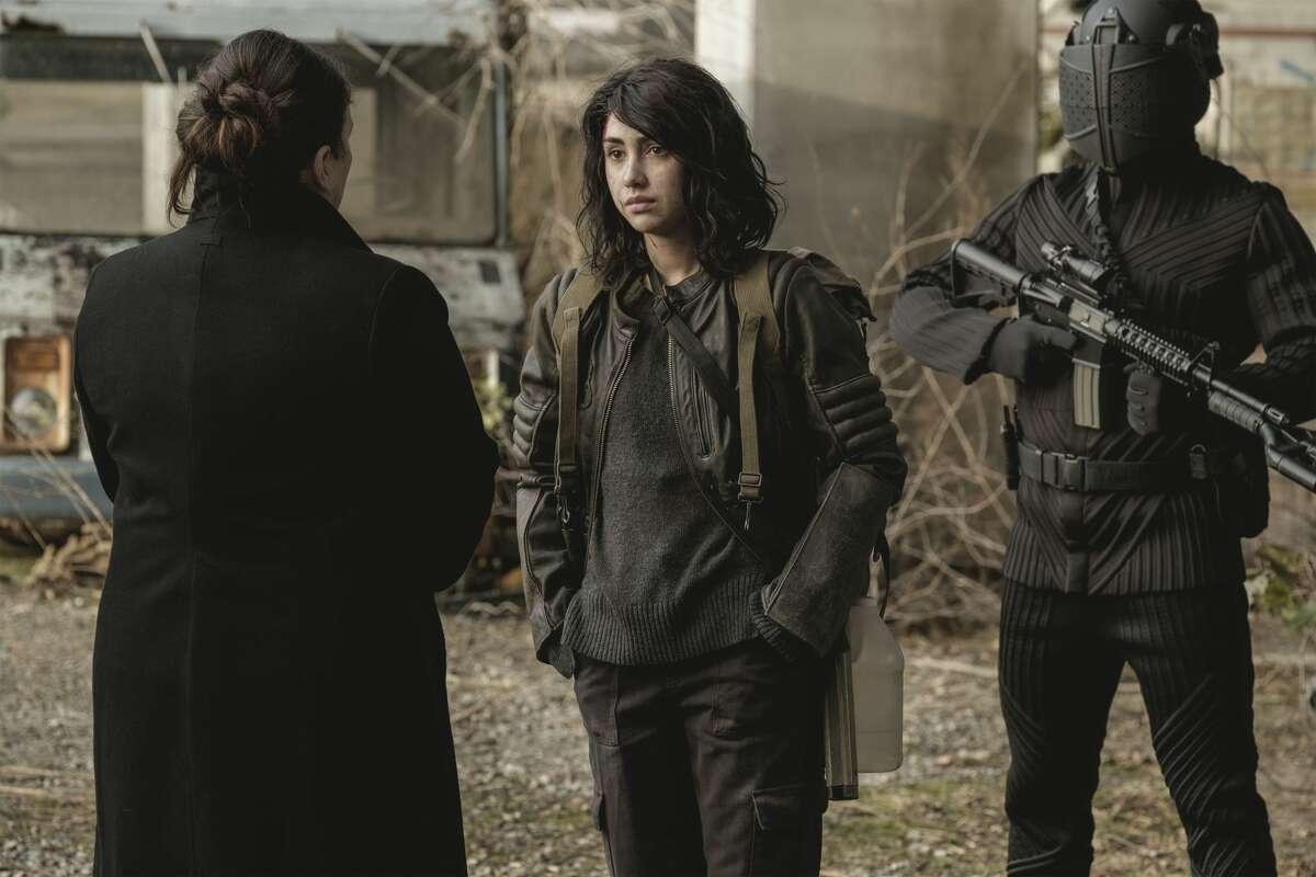 "Alexa Mansour plays Hope Bennett in ""The Walking Dead: World Beyond."""