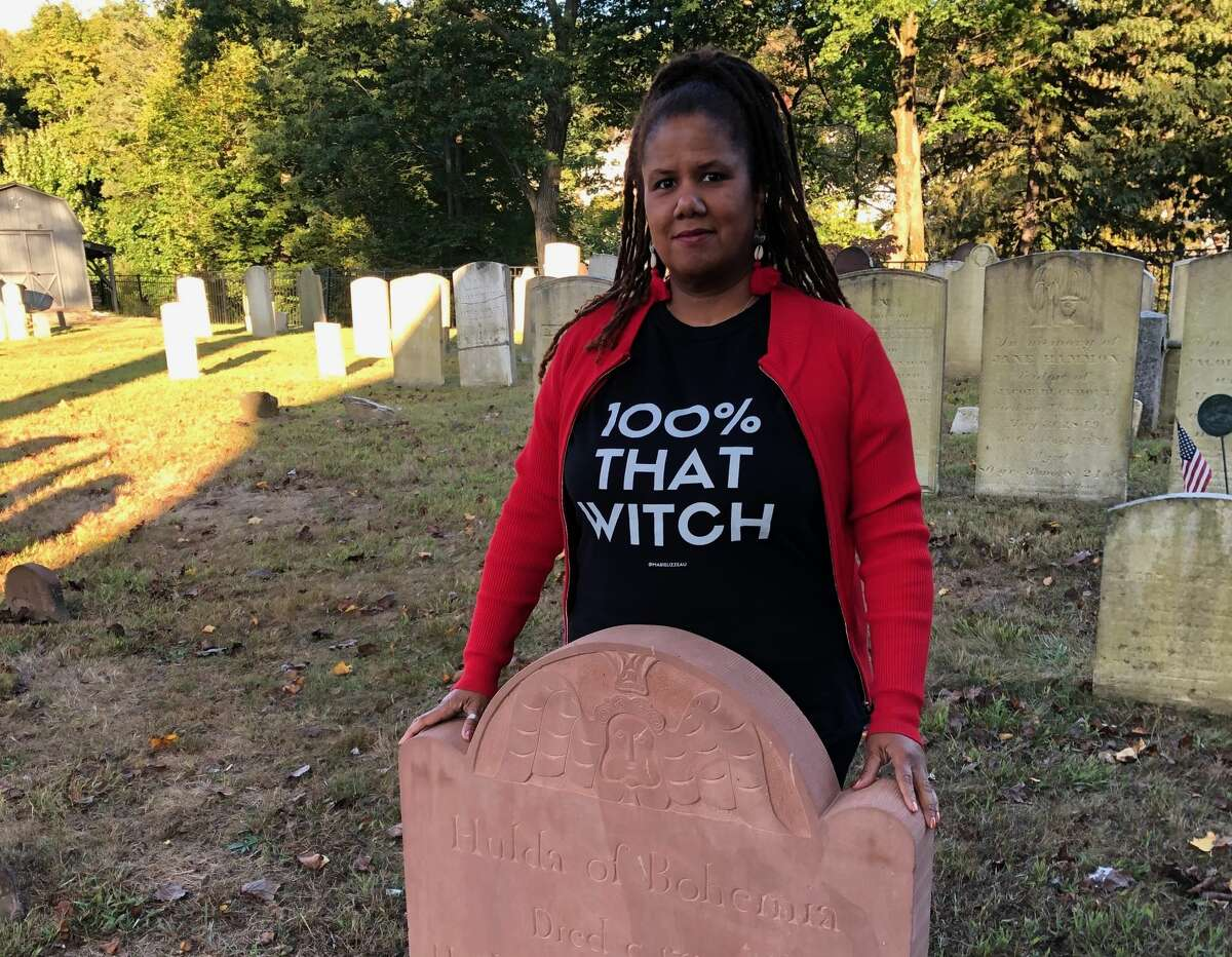"""Carla L. Hall, pictured, developed a show, """"Hulda: The other legend of Sleepy Hollow,"""" about an 18th-century hero and healer who has become a Sleepy Hollow legend in her own right, attracting visitors to her presumed final resting place at the village's Old Dutch Church."""
