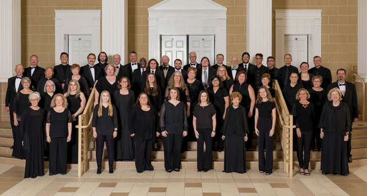"""The Montgomery County Choral Society kicks off their 50th season on Monday night with the concert, """"The Future is Here"""" featuring the 75-member choral group, plus young singers from Mitchell Intermediate School and Conroe High School."""