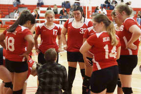 Bear Lake volleyball won its first game of the season on Oct. 7.