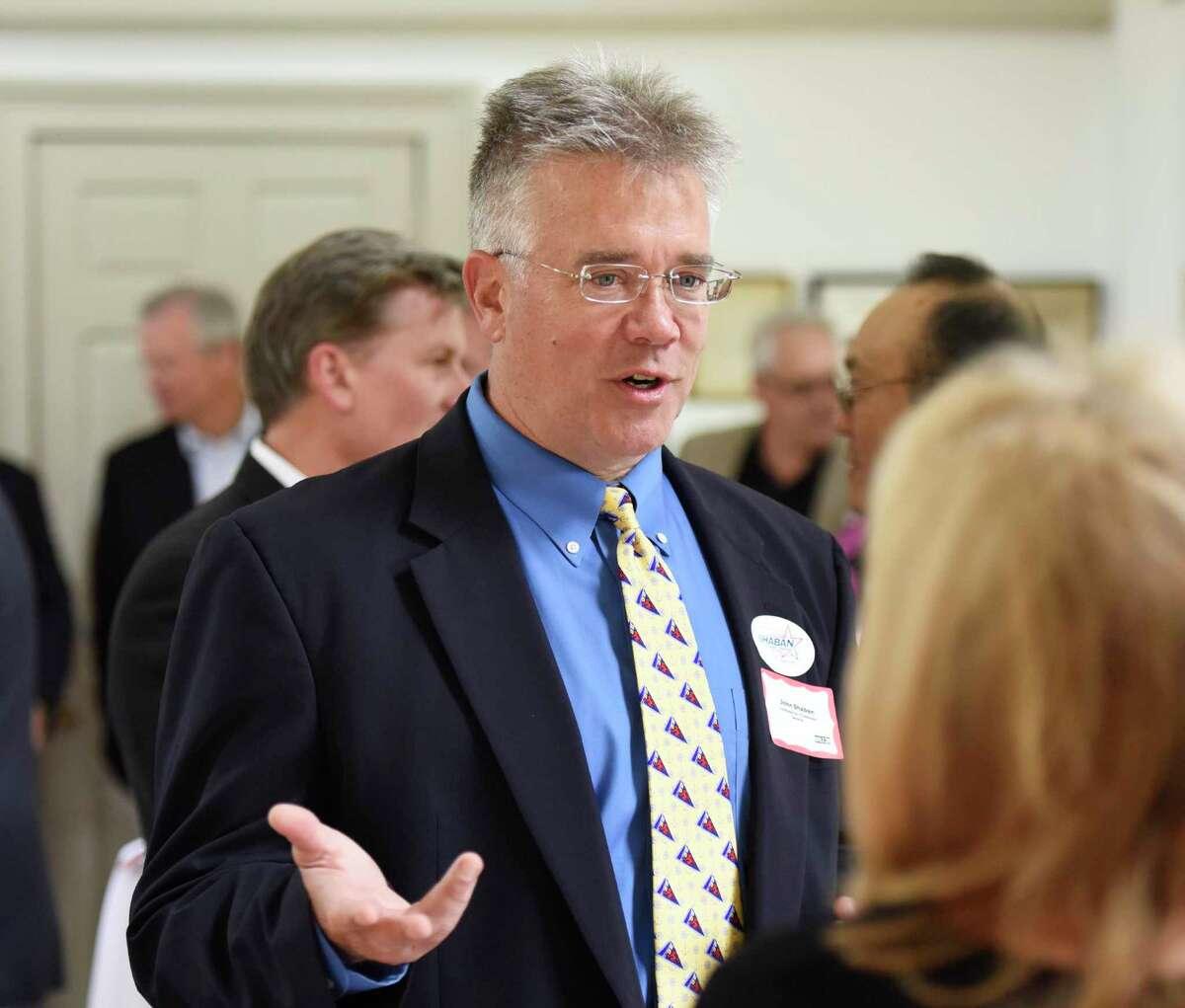 Former state legislator John Shaban is running on the Republican ticket for first selectman in Redding.