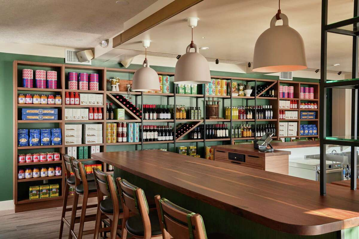 Piatti in Mill Valley underwent a major redesign. The dining room now emphasizes more casual bar seating as well as bolder colors.