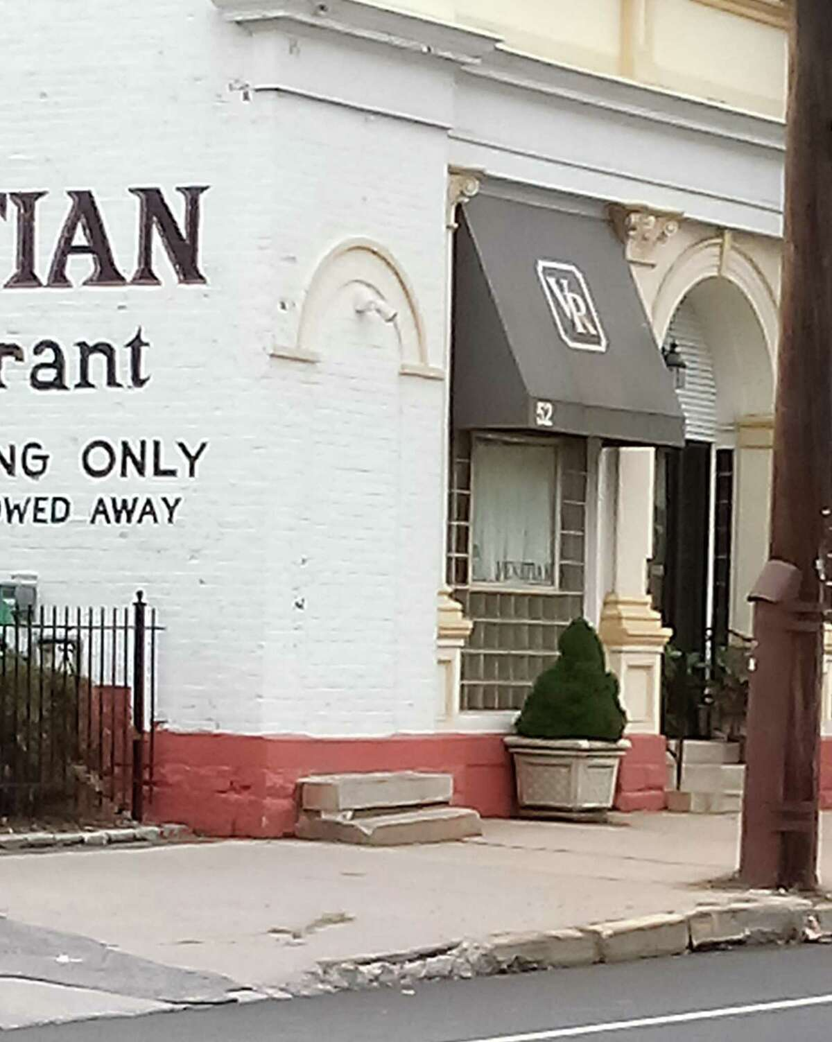 On East Main Street, The Venetian, Rick's Nutmeg Grill, Jim Rokos, Nutmeg Fudge and King's Closet are among businesses that have applied for money to repair their sidewalks and buildings through the city's Facade and Building Improvement Program.