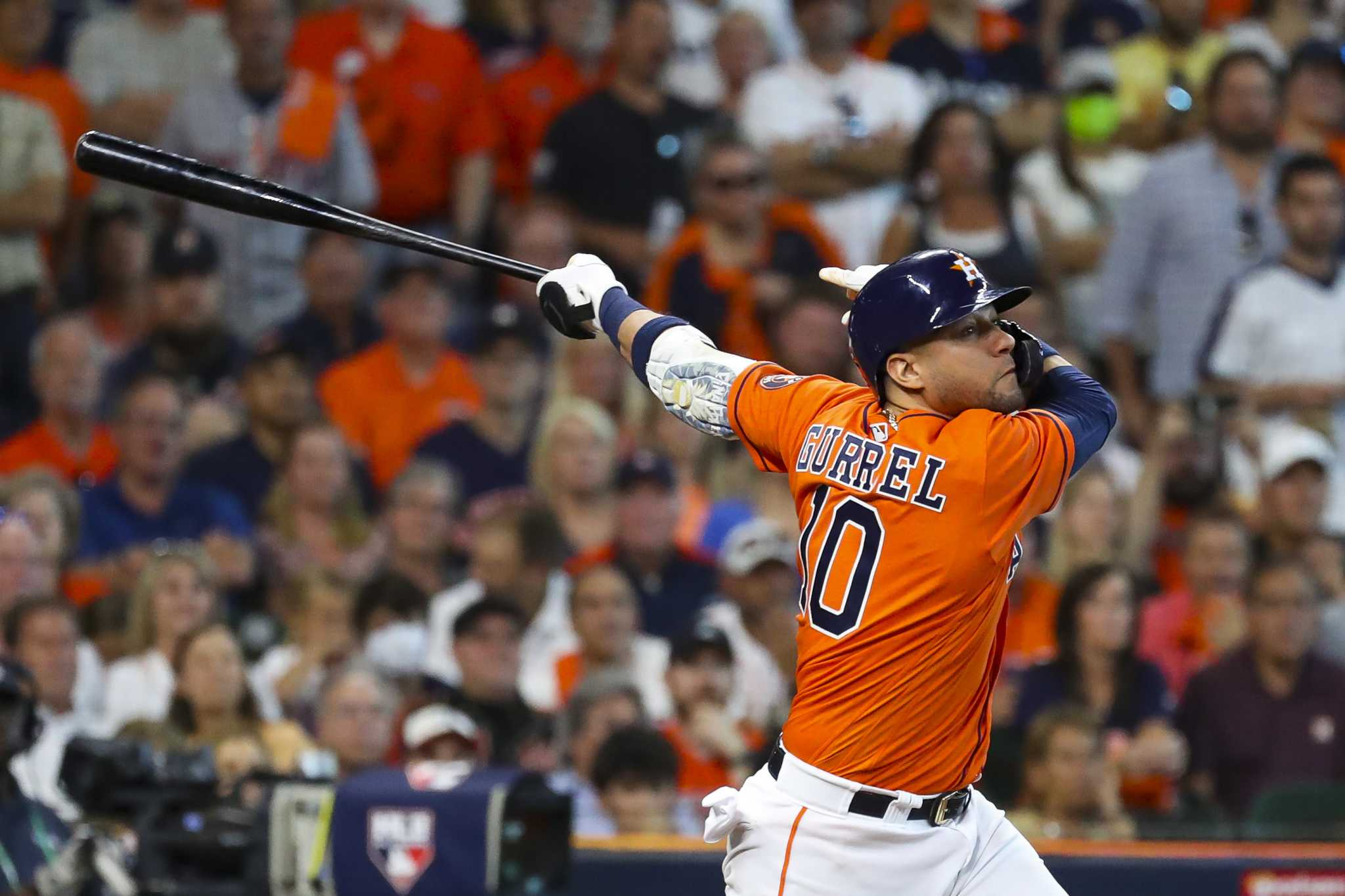 Why Dusty Baker dropped Yuli Gurriel to 7th in Astros' Game 3 lineup - Houston Chronicle