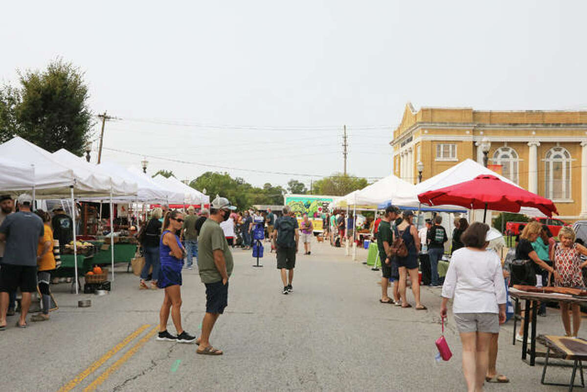 Goshen Community Market is open Saturday from 8 a.m. to noon.