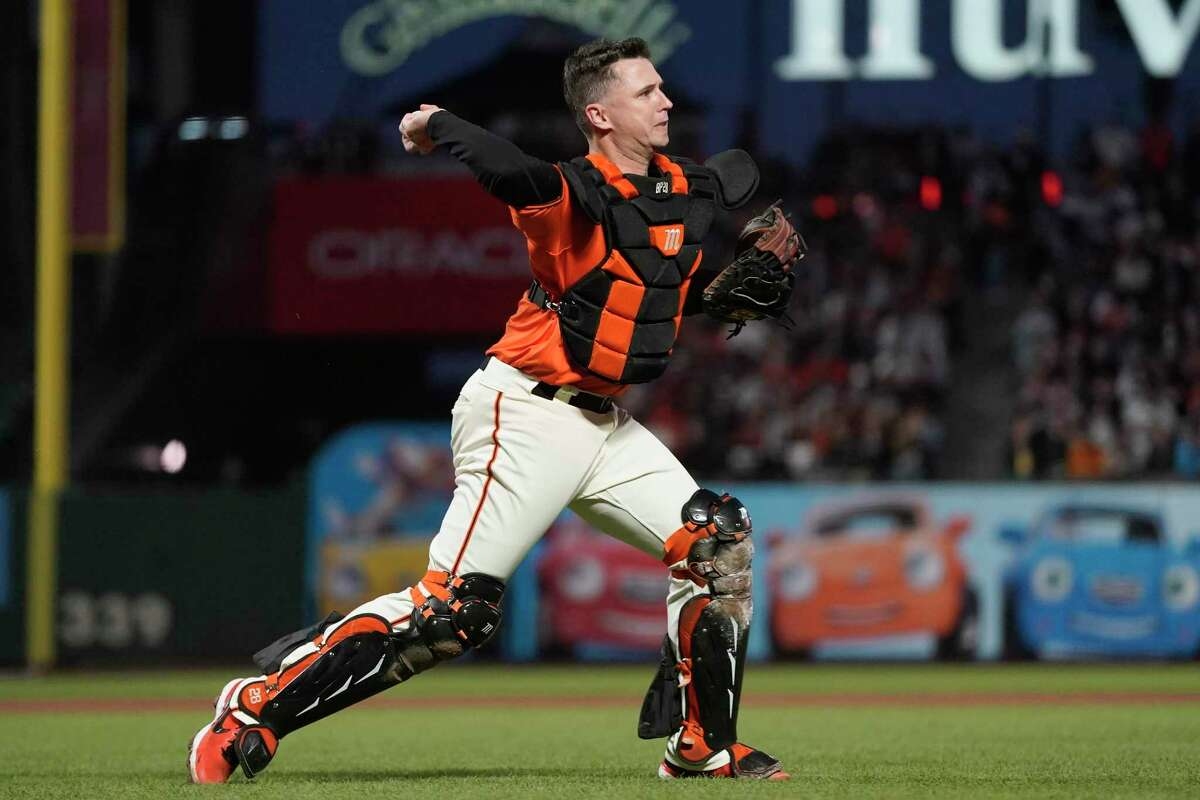 Buster Posey and the Giants will face the Dodgers in Game 2 of the NLDS at Oracle Park at 6 p.m. Saturday (TBS/104.5, 680).