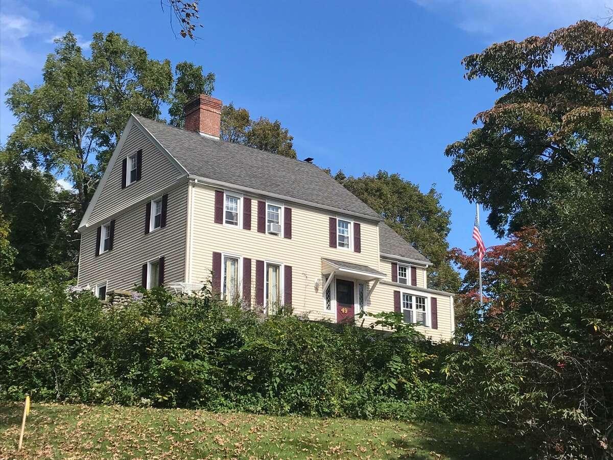 The Daniel Hawley House at 49 Daniels Farm Road.