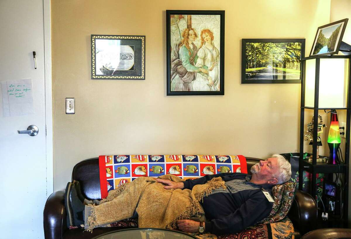 Health care administrator Cliff Morrison was sick with COVID-19 in March 2020 and now struggles with neurological issues he attributes to having had the virus. Extreme fatigue, dizziness and disorientation force him to take naps while at work in order to get through the day.