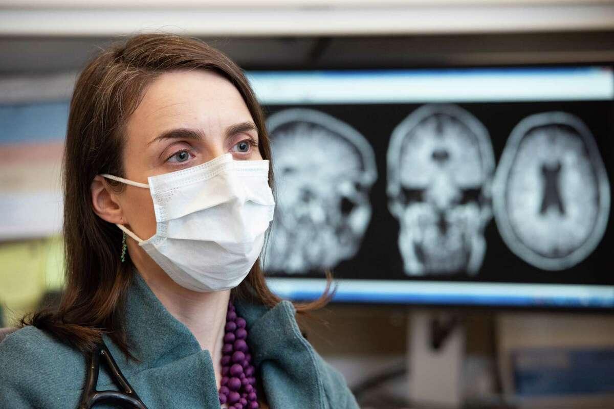 Dr. Joanna Hellmuth, a neurologist, is principal investigator at UCSF's Coronavirus Neurocognitive Study.