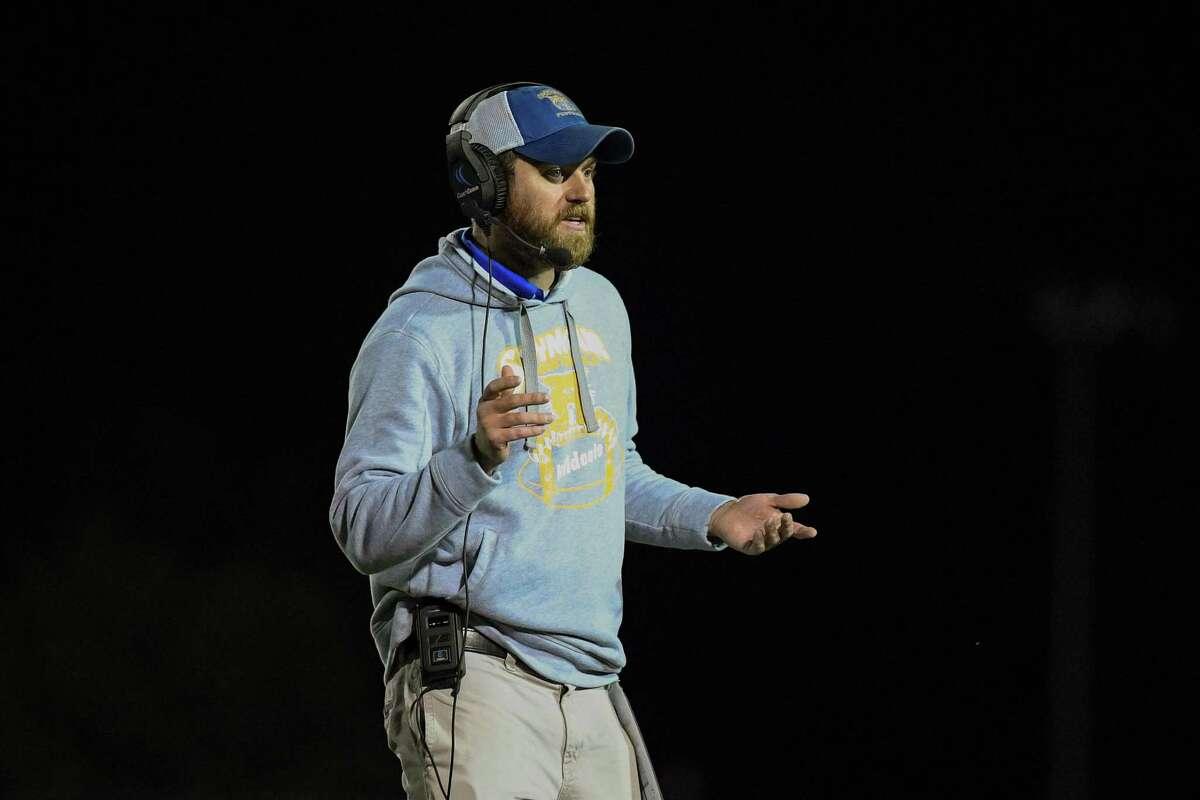 Seymour Head Coach Mike Kearns.