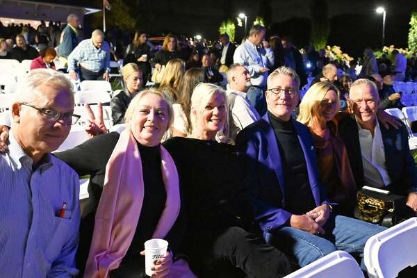"""The Levitt Pavilion hosted its 2021 gala on Oct. 8, 2021. The gala funds the Westport, Conn. venue's free programming and year-round operations, and """"Soak Up the Sun"""" singer Sheryl Crow headlined the event this year. Were you SEEN?"""