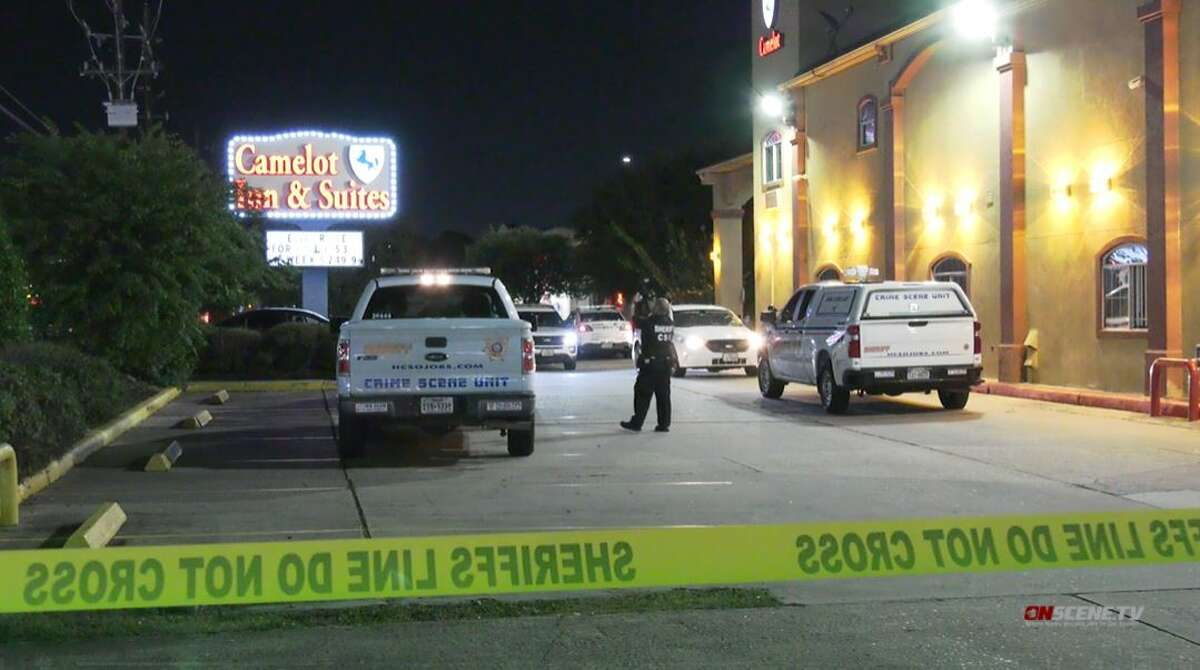 A man was shot and killed Friday night outside of the Camelot Inn at 1425 Cypress Creek Pkwy.