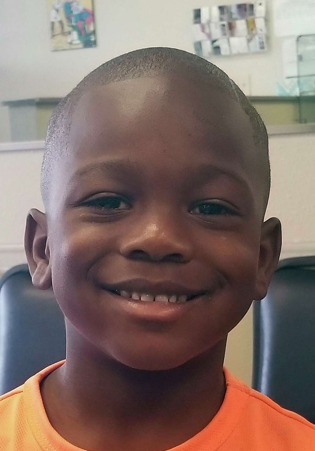 De'Earlvion Whitley is shown in a photo provided by the family. The 4-year-old was shot and killed by a bullet fired in a drive-by shooting.