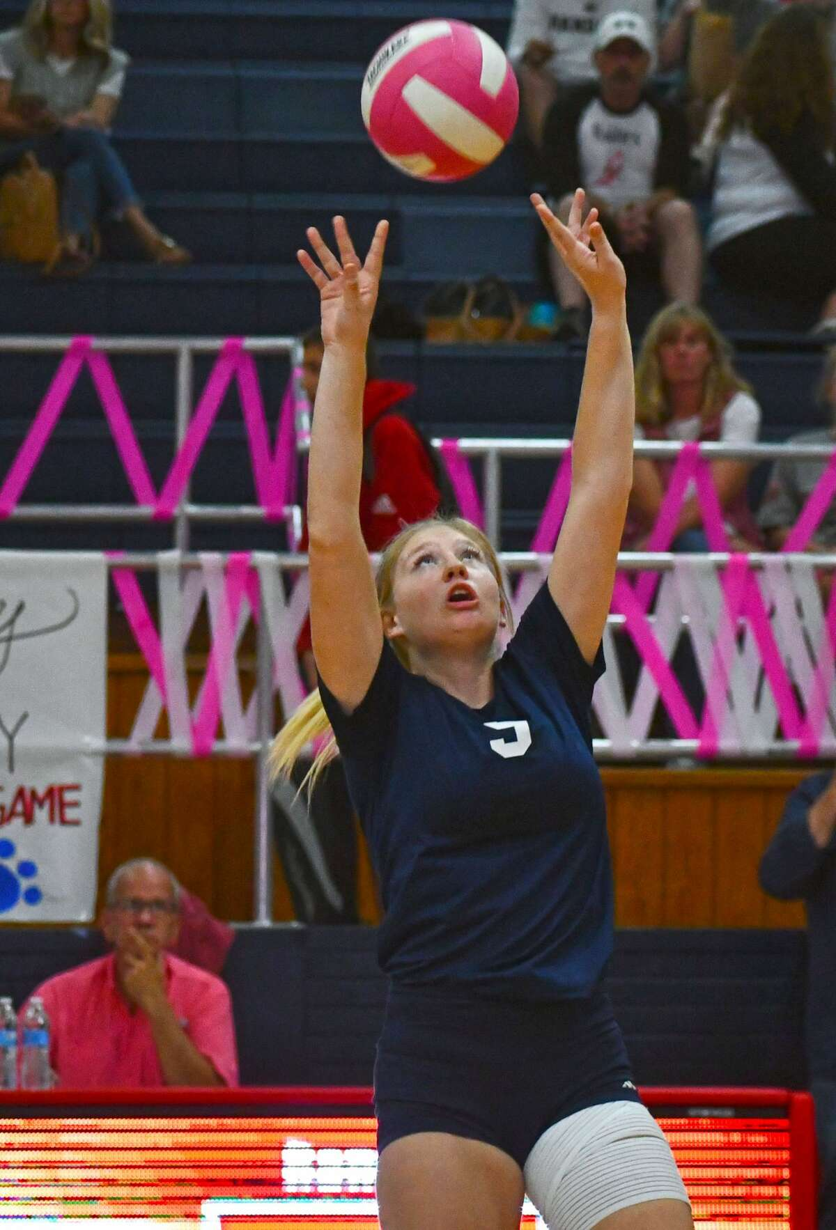 Plainview suffered a 3-0 loss to Canyon Randall in a District 3-5A volleyball game on Friday afternoon in the Dog House.